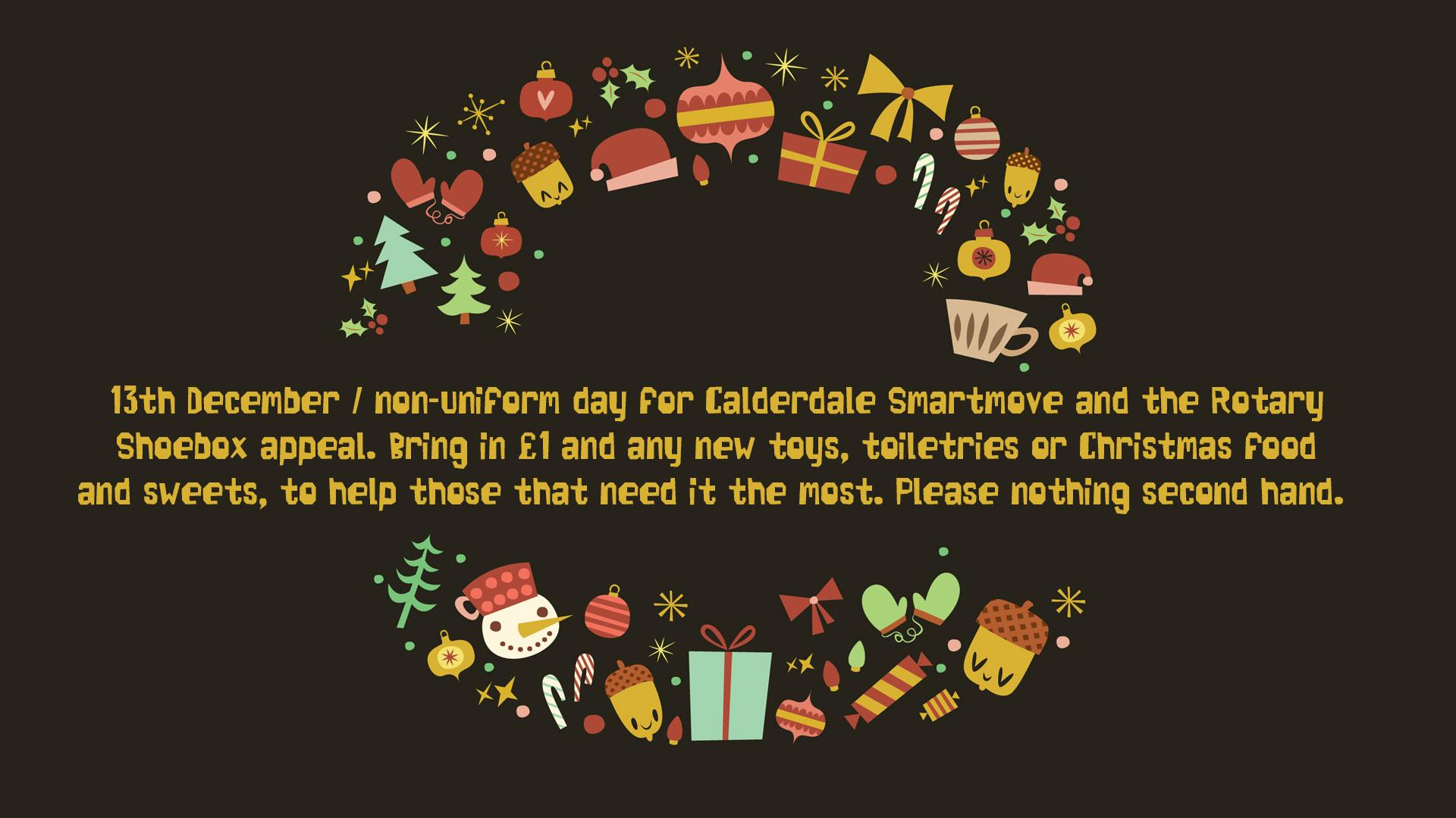 Non-Uniform Day / Rotary Shoeboxes